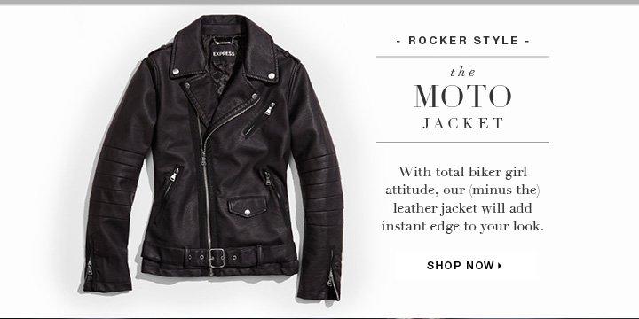 Shop the Moto Jacket