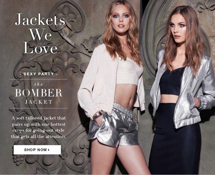 Shop the Bomber Jacket