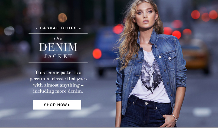 Shop the Denim Jacket