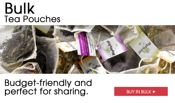 Bulk Tea Pouches. Budget-friendly and perfect for sharing. Buy in bulk.