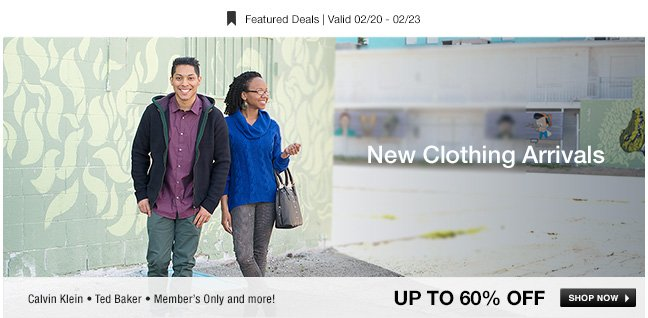 New Clothing Arrivals