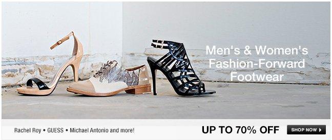 Mens and Womens Fashion-Forward Footwear