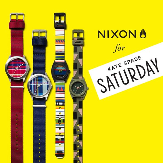 Nixon for Kate Spade Saturday Spring '14