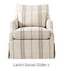 Larkin Swivel Glider