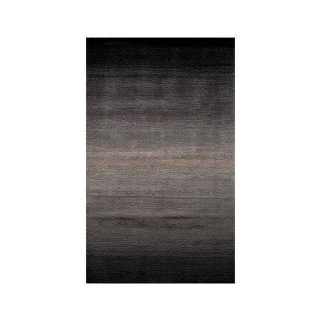 Ombre Rug // Midnight Black
