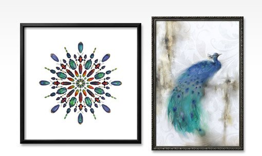 PRISM 5 By: Christopher Marley; Jewel Plumes I By: J.P. Prior