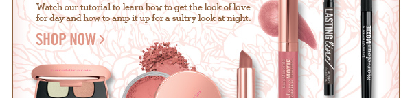 Get the look of love for day or night