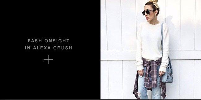Fashionsight in Alexa Crush