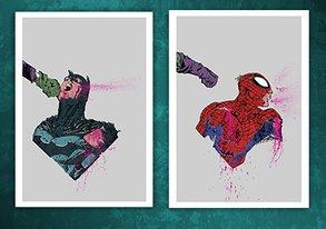 Shop NEW Posters ft. Batman & Spiderman