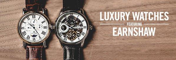 Shop NEW Luxury Watches ft. Earnshaw