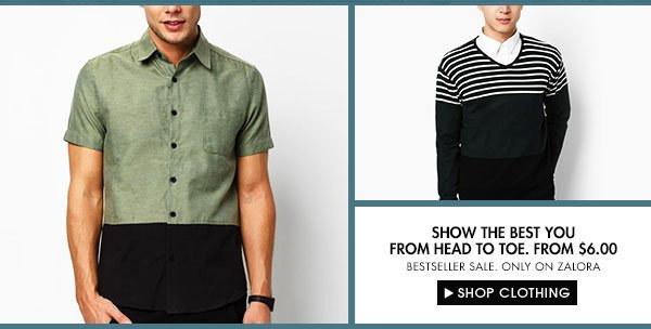 Shop Clothes Only On Zalora