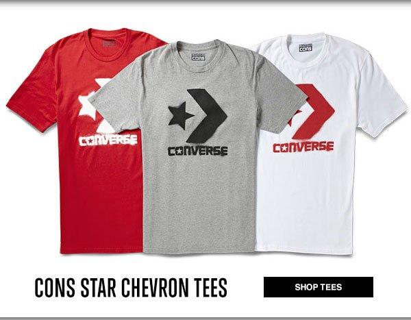 CONS STAR CHEVRON TEES
