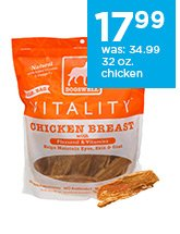 Dogswell Vitality 32 oz. chicken breast only $17.99