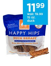 Dogswell Happy Hips 15 oz. duck breast only $11.99