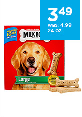 Milk-Bone Large 24 oz. only $3.49