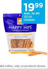 Dogswell Happy Hips 32 oz. chicken breast only $19.99