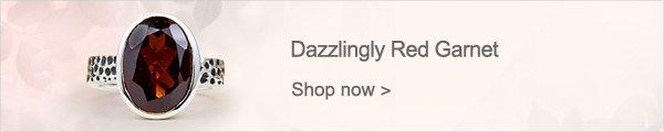 Dazzlingly Red Garnet