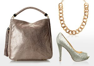 High Shine: Metallic Shoes & More