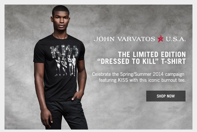 John Varvatos Dressed To Kill Shop The Limited Edition