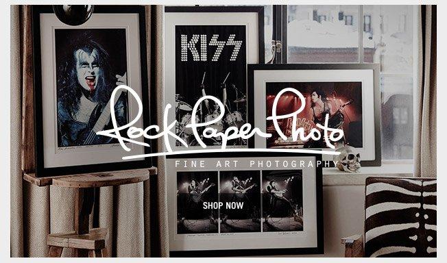 Rock Paper Photo