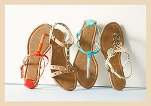 Swim Style: Sandals