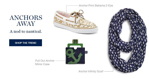 ANCHORS AWAY | SHOP THE TREND