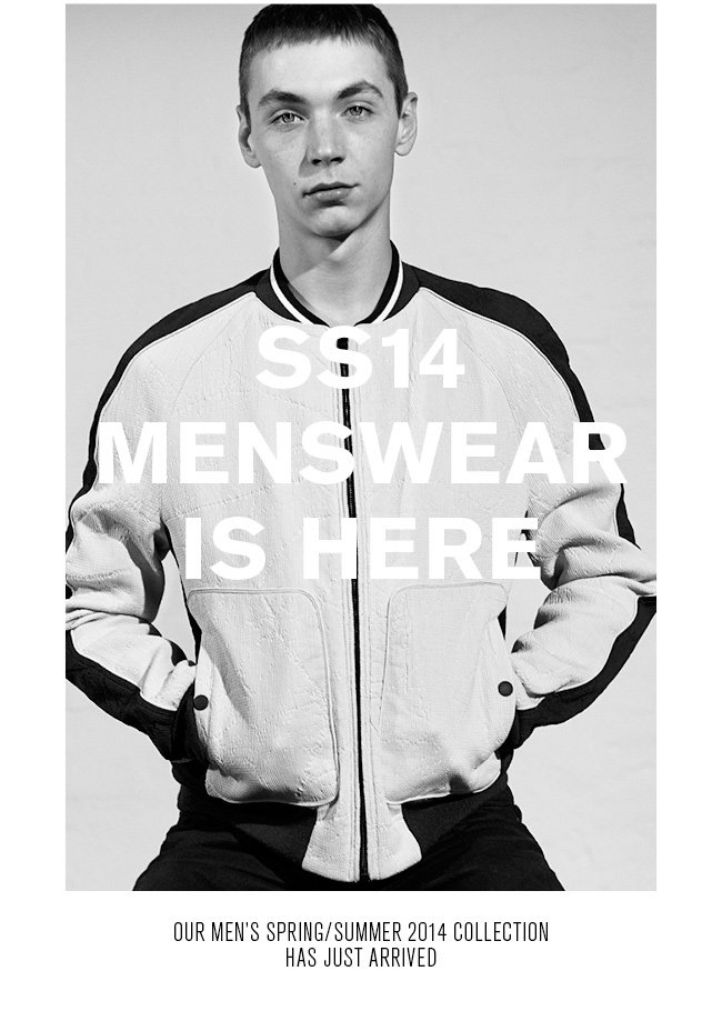 Shop Mens Spring/Summer 2014