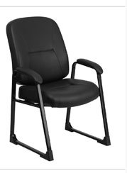 Hercules Leather Soft Executive Side Chair
