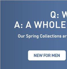 NEW FOR MEN