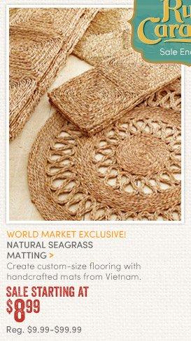 Natural Seagrass Matting