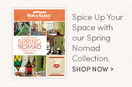 Spice Up Your Space with our Spring Nomad Collection.