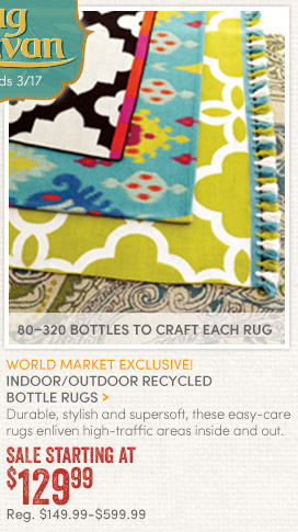 Recycled Bottle Rugs