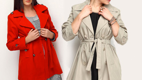 Euro-Chic Spring Outerwear