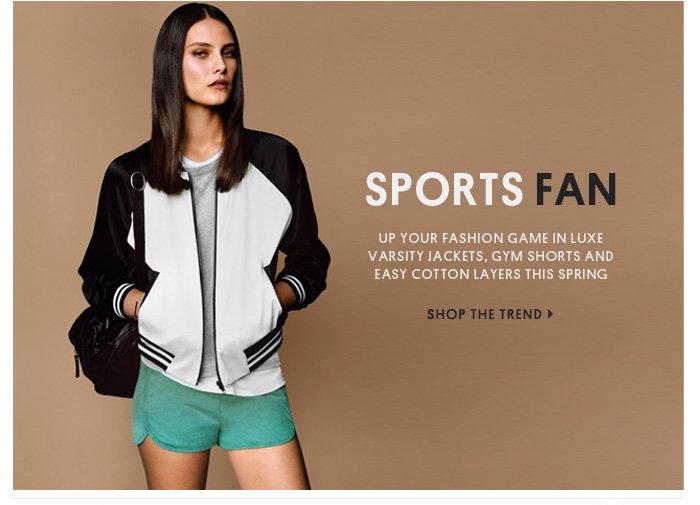 SPORTS FAN - Shop The Trend