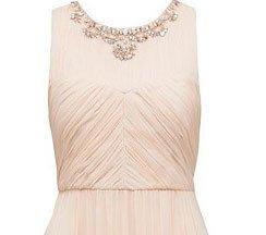 Penelope Ruched Bodice Maxi Dress