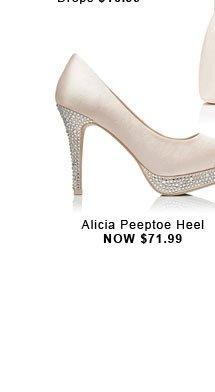 Alicia Peeptoe Heel