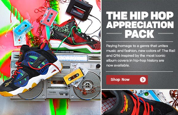 THE HIP HOP APPRECIATION PACK. SHOP NOW