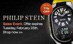 Philip Stein flash sale