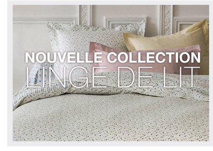 Nouvelle collection linge de lit