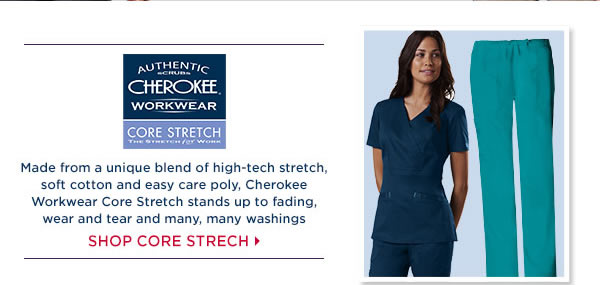 Cherokee WorkWear Core Stretch - Shop Core Stretch