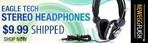 Eagle Tech Stereo Headphones