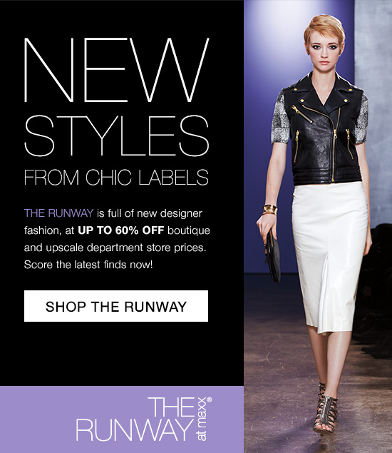 shop the runway