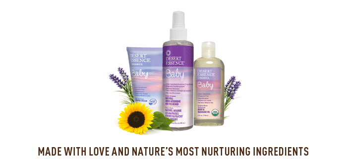 MADE WITH LOVE AND NATURE'S MOST NURTURING INGREDIENTS