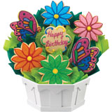 Butterfly and Daisy Birthday
