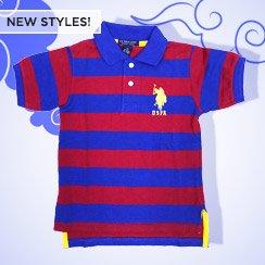 U.S. Polo Tees, Polos & More