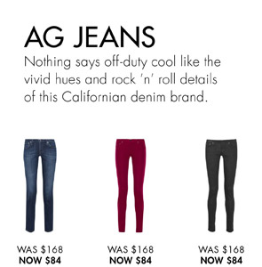 AG JEANS. SHOP NOW