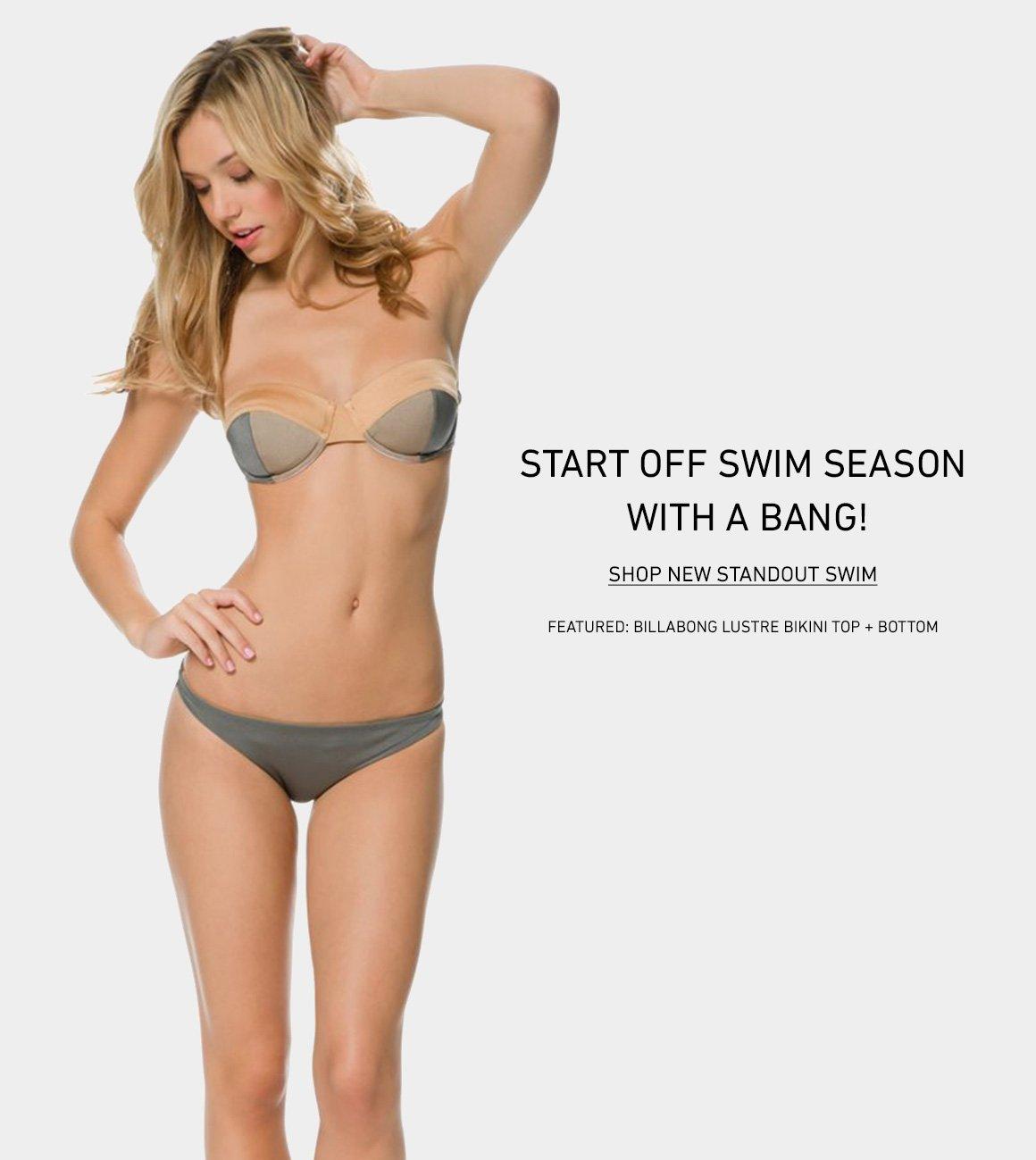 Shop New Standout Swim