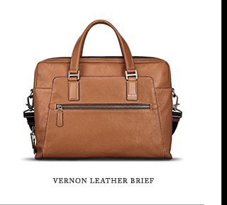 Vernon Leather Brief - Shop Now