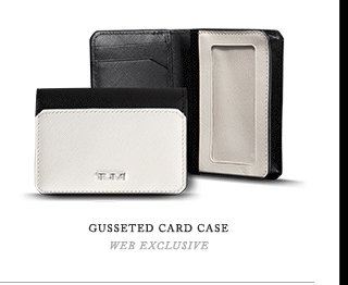 Gusseted Card Case - Shop Now