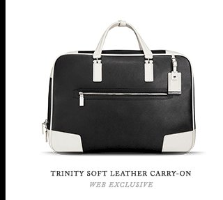 Trinity Soft Leather Carry-on - Shop Now